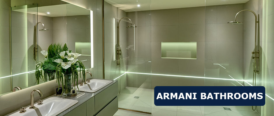 Armani Bathrooms
