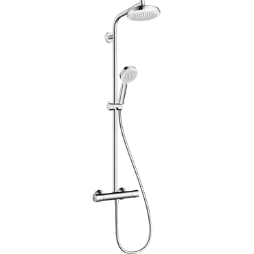 Hansgrohe Shower Rails with Mixer Valves