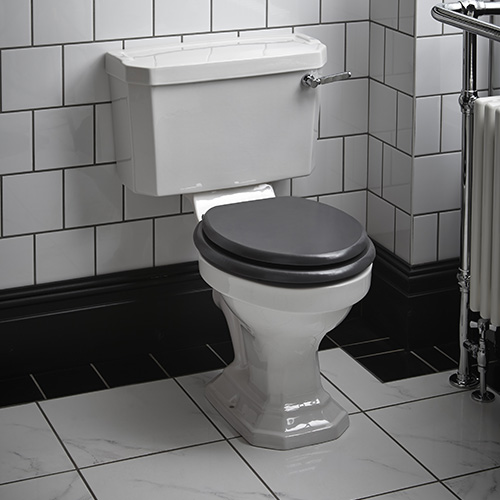 Heritage Bathroom Toilets - Close Coupled