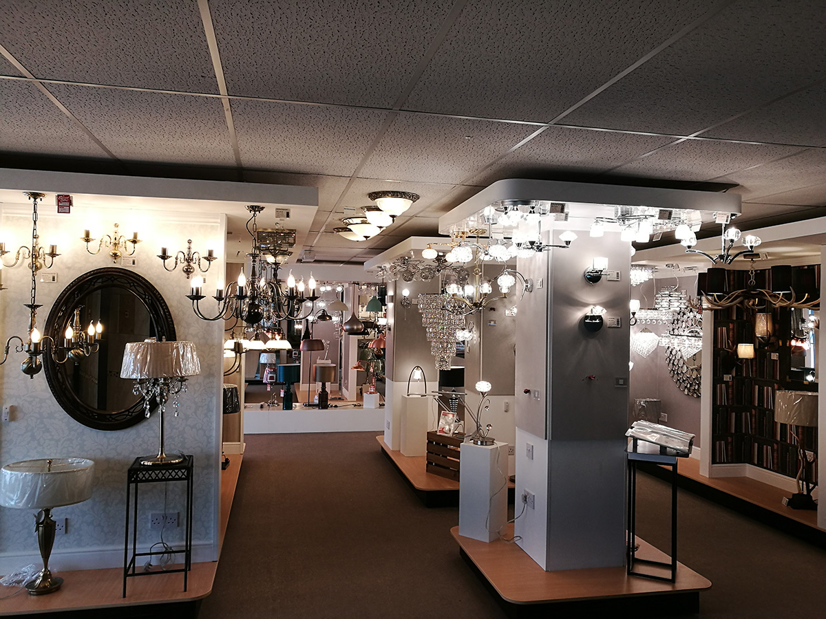 Lighting Majestic Showroom Birmingham