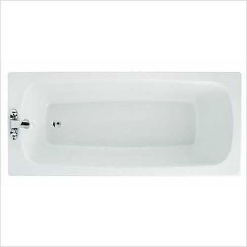 Adamsez Baths - Solo Single Ended Bath 1800x800mm