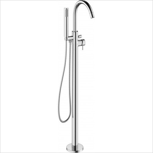 Mike Pro Floorstanding Bath Shower Mixer