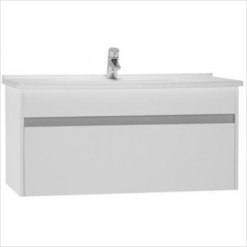 Vitra Furniture - S50 Washbasin Unit 100cm Including Basin