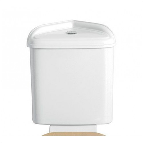 Heritage Optional Extras - Dorchester Corner Cistern with Push Button Flush