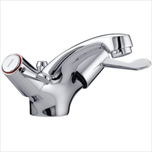 Bristan Taps - Lever Mono Basin Mixer With Pop Up Waste