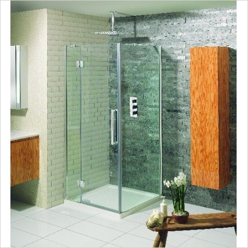 Simpsons Shower Enclosures - Ten Hinged Door 800mm