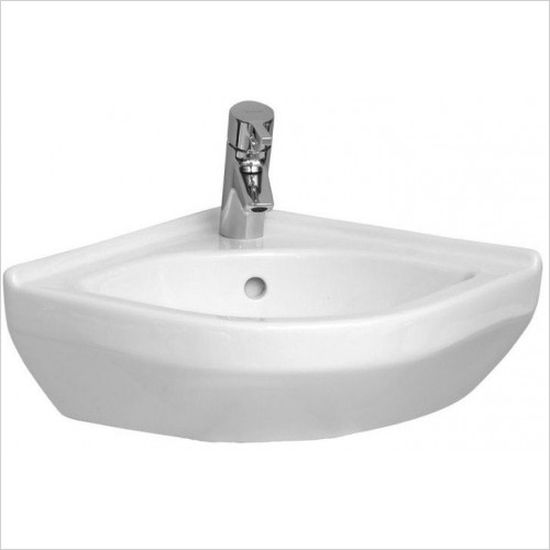 Vitra Basins - S50 Corner Basin 40 x 40cm 1TH