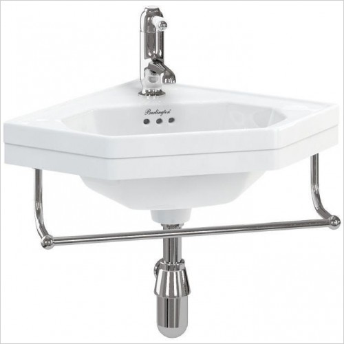 Burlington Optional Accessories - Towel Rail For Corner Basin