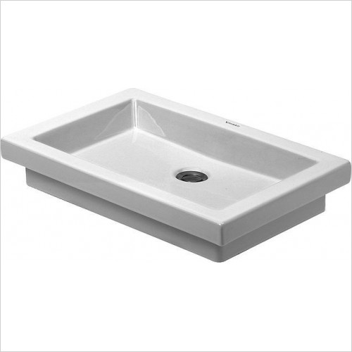 Duravit - Basins - 2nd Floor Counter Top Basin 580mm