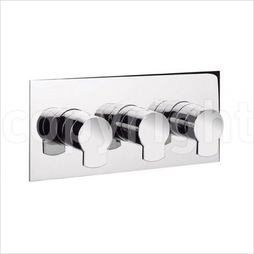 Crosswater Showers - Wisp 2001 Thermostatic Shower Valve 3 Control
