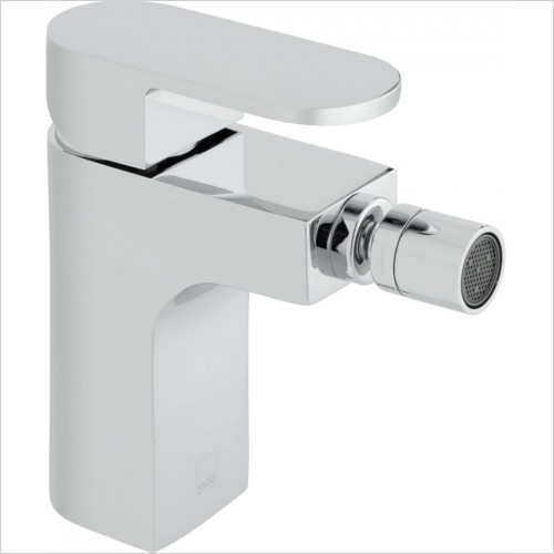 VADO Taps - Life Mono Bidet Mixer Single Lever Smooth Bodied