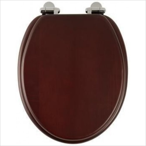 Traditional Soft-Closing Toilet Seat