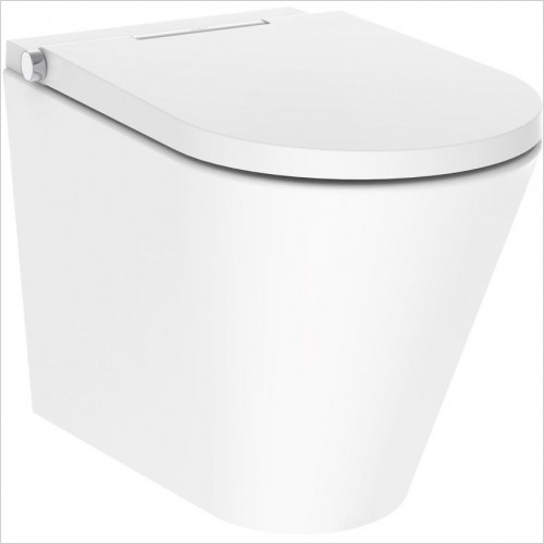 Crosswater Toilets - Axent One Back To Wall Bidet Toilet Rimless