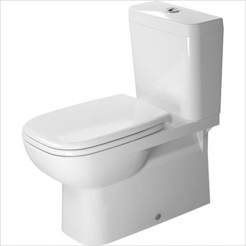 Duravit - Toilets - D-Code Toilet Close Coupled 700mm Vario Outlet Washdown