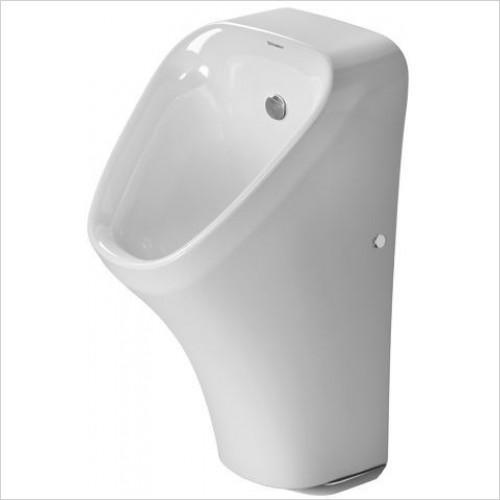 Duravit Urinals - DuraStyle Urinal With Nozzle Concealed Inlet Fly
