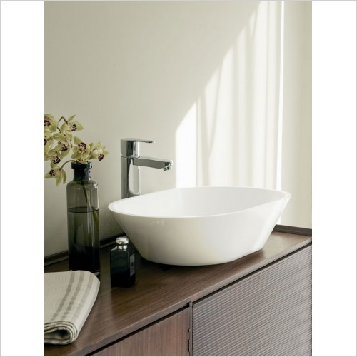 Clearwater Basins - Sontuoso Clearstone Basin 590 x 390mm