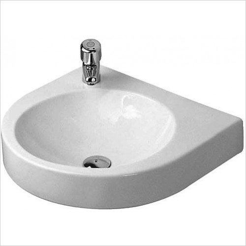 Duravit - Basins - Architec Washbasin 580mm TH Prepunched