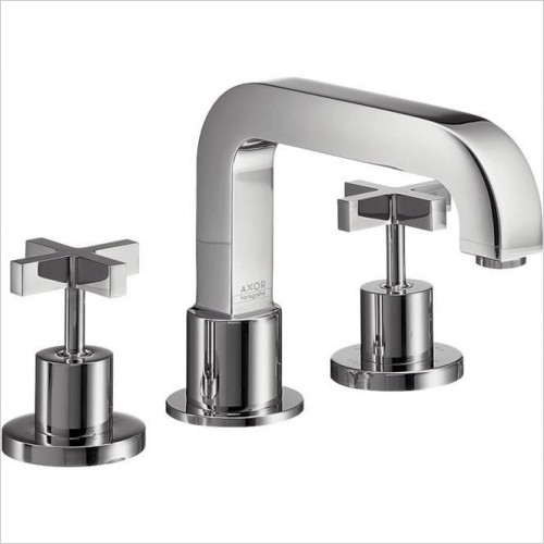 Axor Taps - Citterio 3-Hole Rim Mounted Bath Mixer
