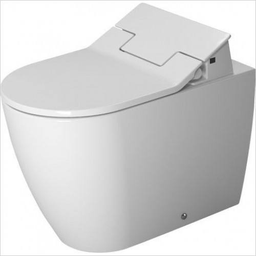 Duravit - Toilets - ME By Starck Toilet Floorstanding 600mm Washdown Back To Wal