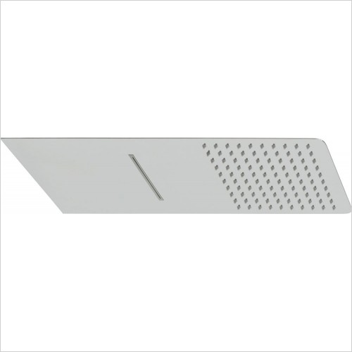 VADO Showers - Aquablade Slimline Square Shower Head