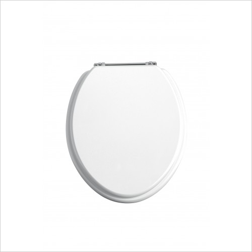 Heritage Toilets - Heritage Soft Close Plastic WC Toilet Seat