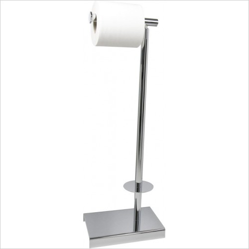 Miller Accessories - Classic Freestanding Toilet & Spare Roll Holder