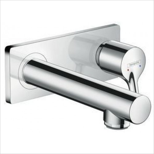 Hansgrohe Taps - Talis S Single Lever Basin Mixer With Spout 165mm WM