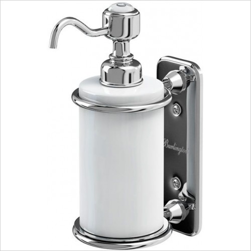 Burlington Accessories - Single Soap Dispenser