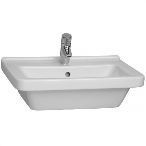 Vitra Basins - S50 Square Basin 60 x 46cm 1TH