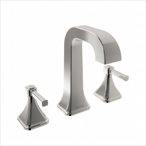 Heritage Taps - Somersby Basin Mixer 3 Tap Hole