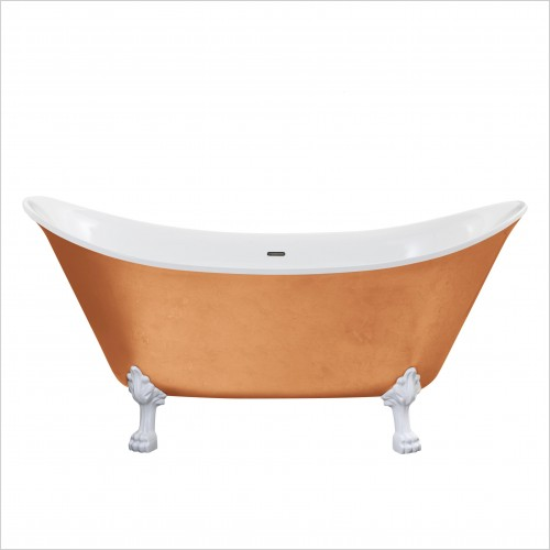 Heritage Bathtubs - Lyddington Freestanding Bath No Tap Hole