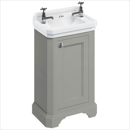 Burlington Furniture - 50cm Vanity Unit With One Door