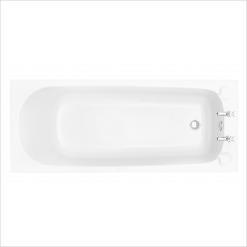 Heritage Bathtubs - Dorchester Single Ended 1700 x 700 Acrylic Fitted Bath