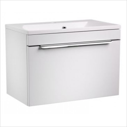 Roper Rhodes Furniture - Cypher 600mm Wall Mounted Bathroom Vanity Unit