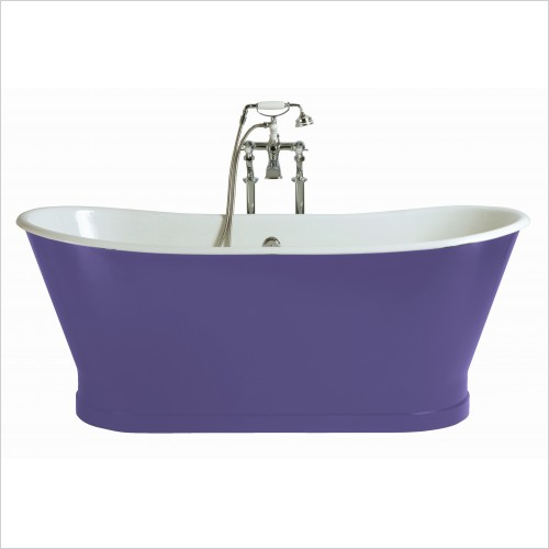 Heritage Bathtubs - Madeira 1700 x 695mm Freestanding Cast Iron Bath No Tap Hole