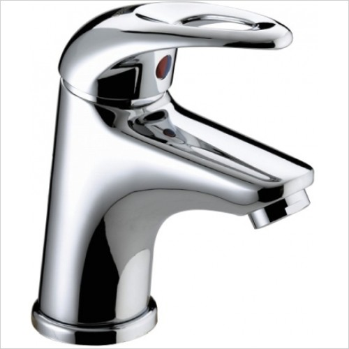 Java Small Basin Mixer With Pop Up Waste