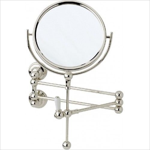 Perrin and Rowe Accessories - Traditional Wall Shaving Mirror
