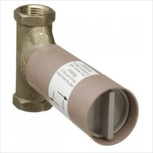 Hansgrohe Optional Extra - Basic Set Shut Off Valve With Spindle 3/4''