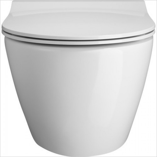 Bauhaus Toilets - Svelte C Wall Hung WC Pan