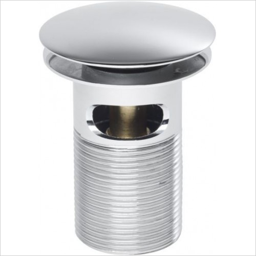 Roper Rhodes Optional Accessories - Basin Dome Top Spring Waste Slotted 75mm Body