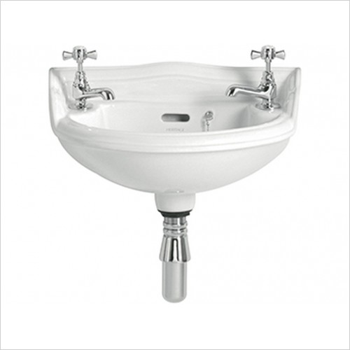 Heritage Basins - Dorchester Baby Basin 2 TAP HOLE