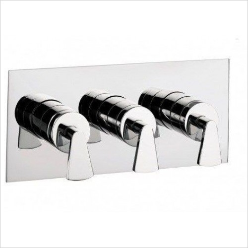 Crosswater Showers - Essence Thermostatic Shower Valve With 3 Way Diverter