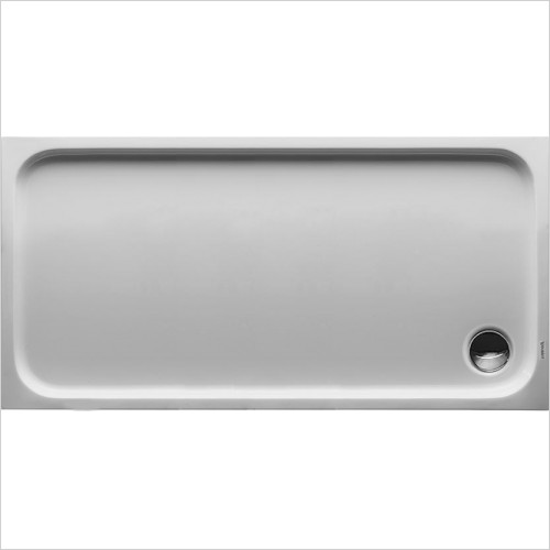 Duravit Showers - D-Code Shower Tray 1400x700mm Rectangular - 720095