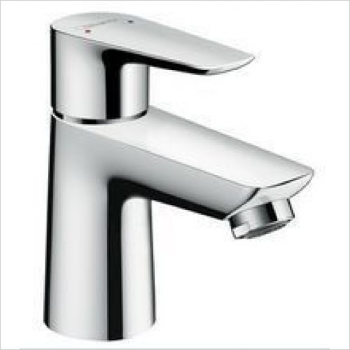 Hansgrohe Taps - Talis E Single Lever Basin Mixer 80 With Push-Open Waste