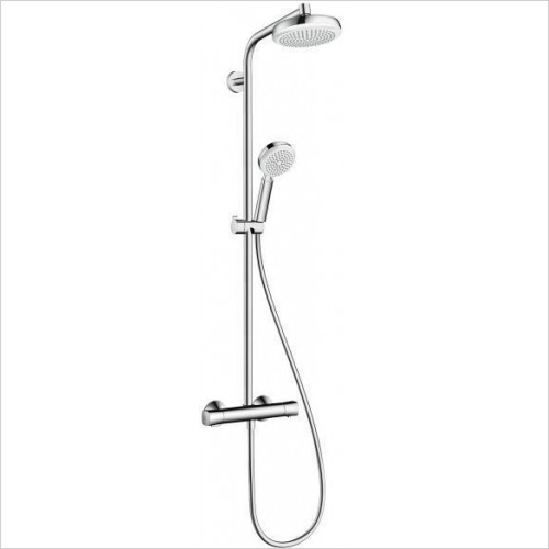Hansgrohe Showers - Crometta 160 Shower pipe Set EcoSmart