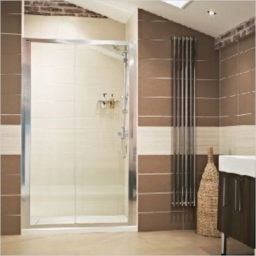 Roman Shower Enclosures - Lumin8 Sliding Door 1200mm