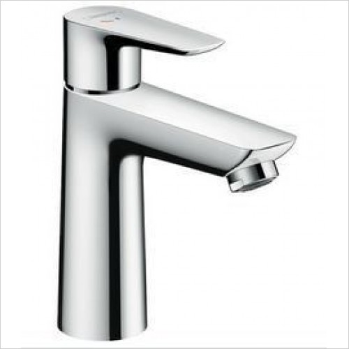 Hansgrohe Taps - Talis E Single Lever Basin Mixer 110 Coolstart, Pop-Up Waste