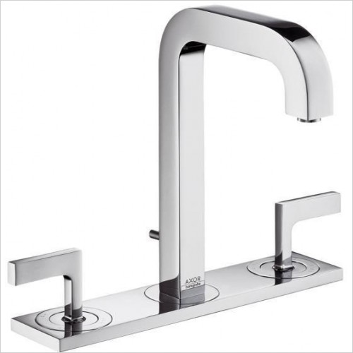 Axor Taps - Citterio 3-Hole Basin Mixer 170 With Lever Handles
