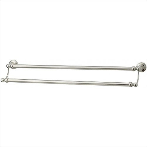 Perrin and Rowe Accessories - Traditional 610mm Double Towel Rail
