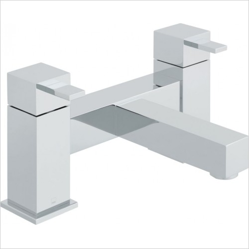 VADO Taps - Té 2 Hole Bath Filler Deck Mounted